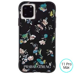 [ケースメイト]PRABAL GURUNG×Case-Mate - Brush Stroke Black Floral for iPhone 11 Pro Max