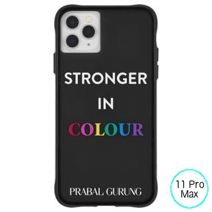 [ケースメイト]PRABAL GURUNG×Case-Mate - Stronger in Color for iPhone 11 Pro Max