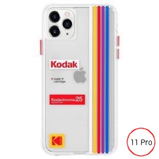 [ケースメイト]Kodak×Case-Mate - Clear Striped for iPhone 11 Pro