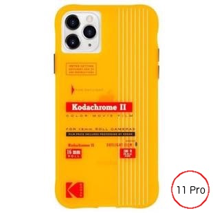 [ケースメイト]Kodak×Case-Mate - Vintage Print for iPhone 11 Pro