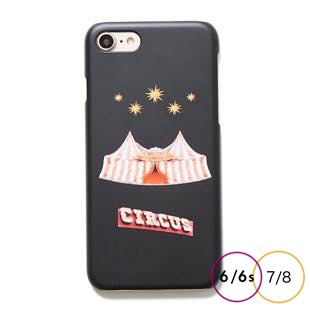 [ホリデーサーカス]Holiday Circus mat case for iPhone 8/7/6/6s