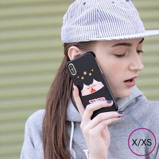 [ホリデーサーカス]Holiday Circus mat case for iPhone X/XS