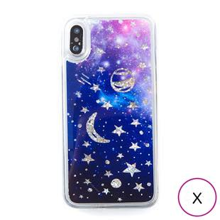 [アイカバー]icover Sparkle case Space for iPhone X