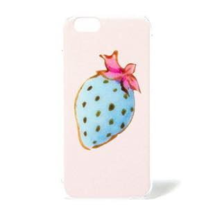FUDGE presents ネイルBOOK Blue Strawberry CASE for iPhone 6/6s