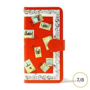 manipuri case collection stamp diary for iPhone 8 / 7