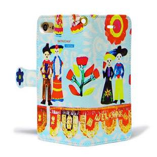 les Briqu'a braque case collection Mexico diary for iPhone 8 / 7