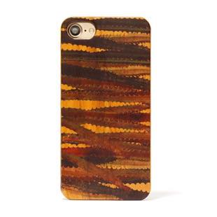 植物 Terrarium collection wood case ユーフォルビア for iPhone 8 / 7