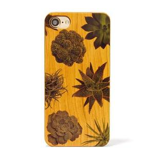 植物 Terrarium collection wood case 多肉植物 for iPhone 8 / 7