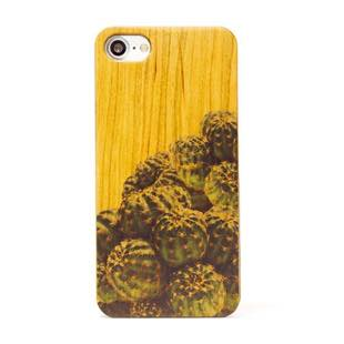植物 Terrarium collection wood case サボテン for iPhone 8 / 7