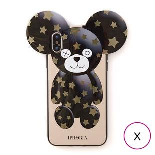 [アイフォリア]TEDDY GOLDEN STARS for iPhone X