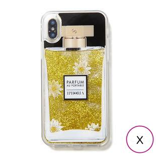 [アイフォリア]Parfum Daisy Golden Glitter  for iPhone X / XS