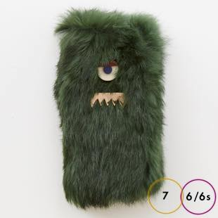 [アコモデ]ACCOMMODE GUILLAUME Rabbit fur for iPhone 8 / 7 / 6s / 6