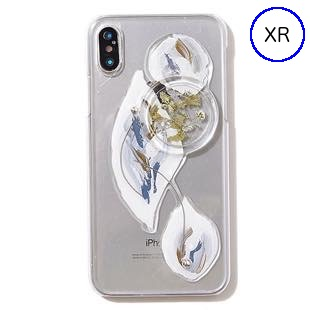 [ファッジ×カルキ]【コラボ】karuki phonecase for iPhone XR(blue)