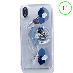 [ファッジ×カルキ]【コラボ】karuki phonecase for iPhone 11(blue/navy)
