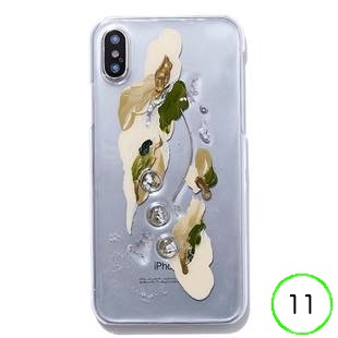 [ファッジ×カルキ]【HCコラボ】karuki phonecase forest for iPhone 11