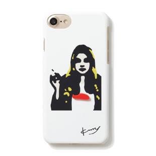 kurry long hair WOMAN White for iPhone 7/6s/6