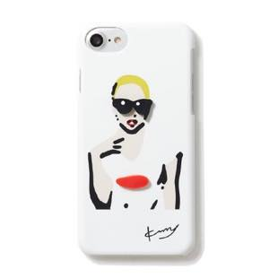 kurry blonde WOMAN White for iPhone 7/6s/6
