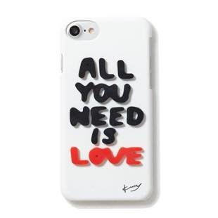 kurry ALL YOU NEED IS LOVE White for iPhone 7/6s/6