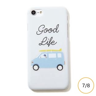 [パニックジャンキー]good life(blue car) for iPhone8/7