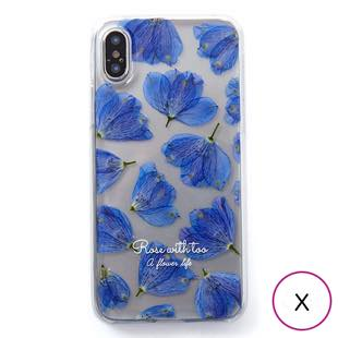 [ローズウィズトゥー]delphinium for iPhone X / XS