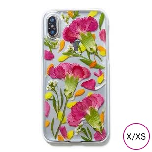 [ローズウィズトゥー]carnation for iPhone X/XS
