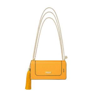 "GRAMAS FEMME Bag Type Leather Case ""Sac"" Yellow for iPhone 6/6s"