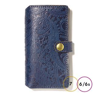 [リアクト]Paisley Indigo iPhone Case for 6 / 6s / 7 / 8