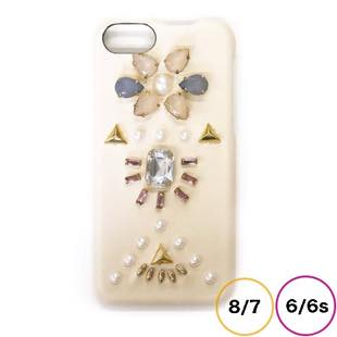 [アコモデ]ACCOMMODE スージー Ivory for iPhone 8 / 7 / 6s / 6