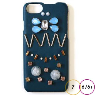 [アコモデ]ACCOMMODE スージー Turquoise for iPhone 8 / 7 / 6s / 6