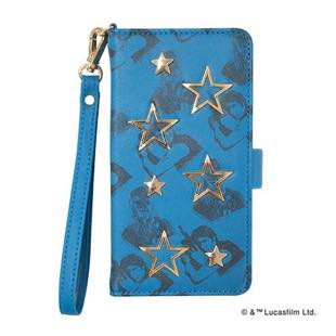 YOOY STAR WARS STUDS BOOK Blue for iPhone 8 / 7 / 6s / 6
