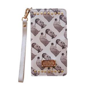 YOOY STAR WARS PRINT STUDS BOOK Beige for iPhone 8 / 7 / 6s / 6