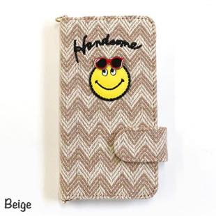 ACCOMMODE ハンサムスマイル Beige for iPhone 8 / 7 / 6s / 6