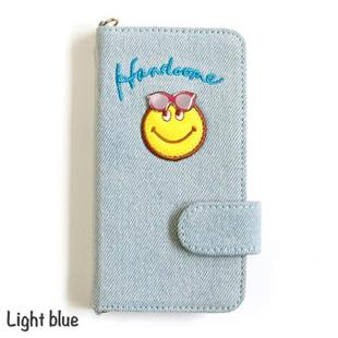 ACCOMMODE ハンサムスマイル Light blue for iPhone 8 / 7 / 6s / 6