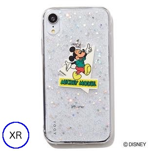 [ヨーイ]DISNEY GLITTER for iPhone XR