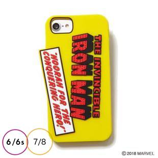 [ヨーイ]IRON MAN SILICONE CASE for iPhone 8 / 7 / 6s / 6