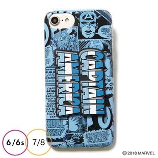 [ヨーイ]CAPTAIN AMERICA 3D PARTS CASE for iPhone 8 / 7 / 6s / 6
