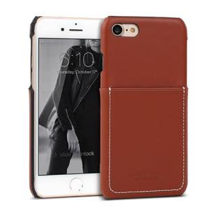 DESIGN SKIN Wetherby・Pocket Bartype Red Brown for iPhone7