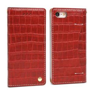 DESIGN SKIN Wetherby・Premium Croco Red for iPhone7
