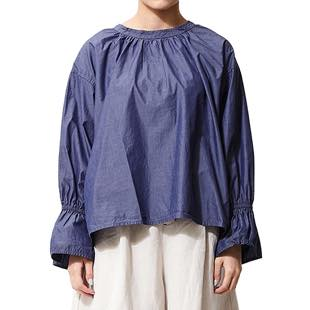 [アーヴィン]church smock shirt