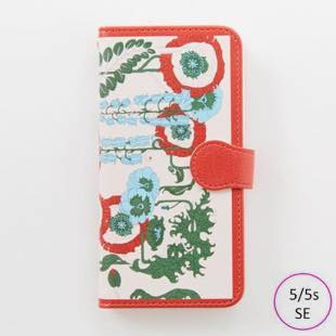 [マニプリコレクション]manipuri case collection lilybell diary for iPhone 5/5s/SE