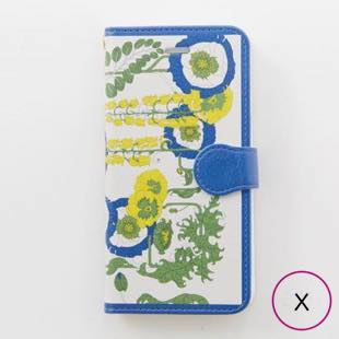 [マニプリコレクション]manipuri case collection lilybell diary for iPhone X / XS