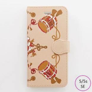 [マニプリコレクション]manipuri case collection drum diary for iPhone 5/5s/SE