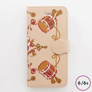 [マニプリコレクション]manipuri case collection drum diary for iPhone 6/6s