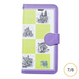[マニプリケースコレクション]manipuri case collection castle yellow diary for iPhone 8/7