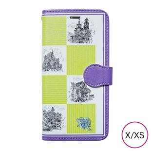 [マニプリケースコレクション]manipuri case collection castle yellow diary for iPhone X/XS