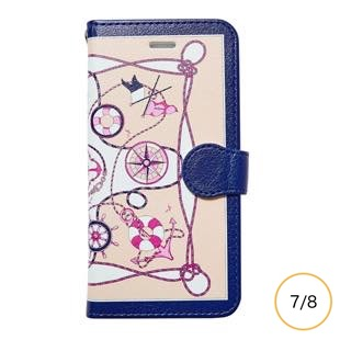 [マニプリケースコレクション]manipuri case collection marine pink diary for iPhone 8/7
