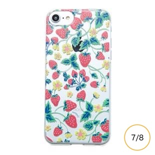 [マニプリケースコレクション]manipuri case collection strawberry Clear for iPhone 8/7