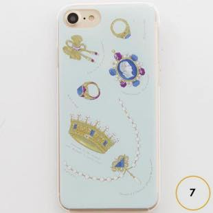[マニプリコレクション]manipuri case collection bijoux for iPhone 8/7