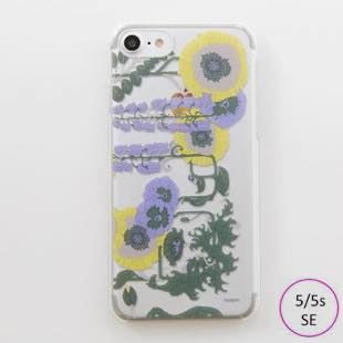 [マニプリコレクション]manipuri case collection lilybell Clear for iPhone 5/5s/SE