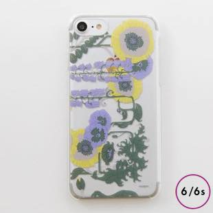 [マニプリコレクション]manipuri case collection lilybell Clear for iPhone 6/6s